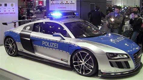 Fast Police car: Audi R8 GT R by ABT   YouTube