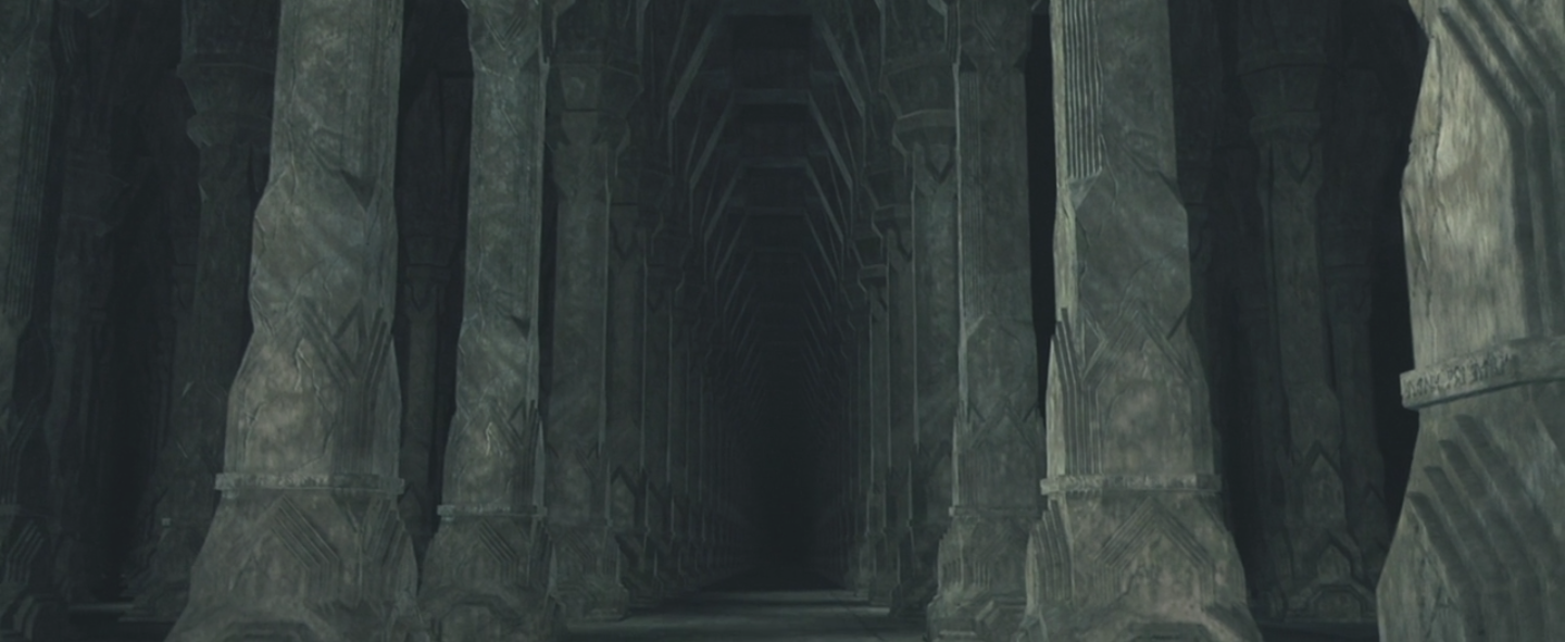 Mines Of Moria Pillars