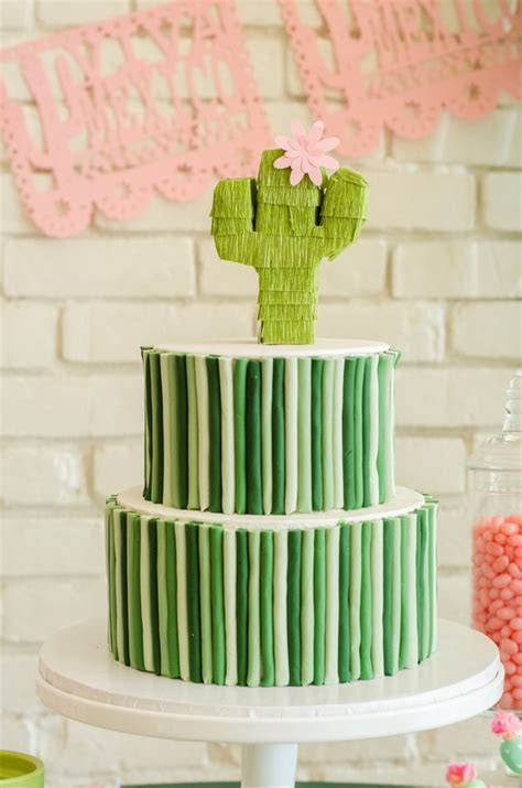 Cactus themed Cinco de Mayo party   Cactus themed kids