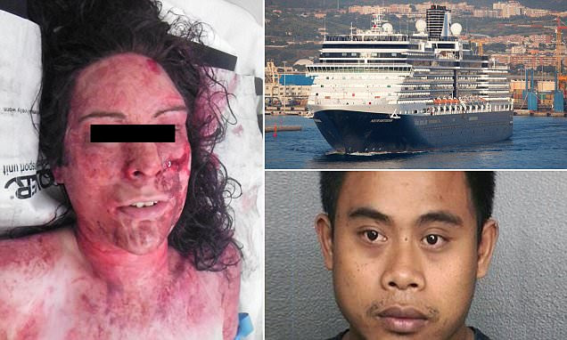 Holland America cruise ship guest raped and almost thrown overboard by attendant
