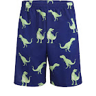 Lacrosse Shorts - T-Rex and Dark Blue A-Small