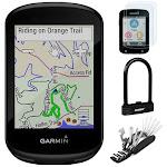 Garmin Edge 830 GPS Cycling Computer with Tempered Glass, U-Lock and Tool Kit