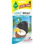 Little Trees Vent Wrap Caribbean Colada Air Fresheners