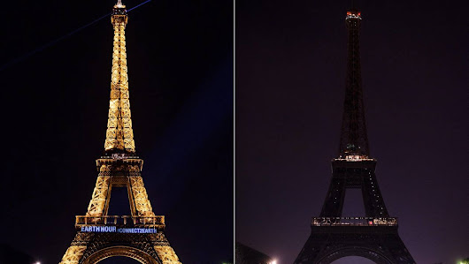 Lights off in India, Moscow, Sydney or Paris for Earth Hour - NextColumn...