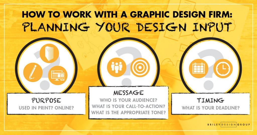 How To Work With A Graphic Design Firm Briley Design Group Blog