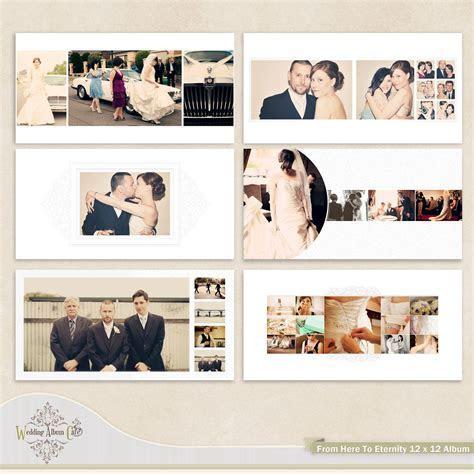 Wedding Album Template for Photographers. $35.00, via Etsy