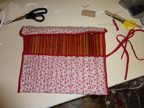 Knitting Needle Roll, 01