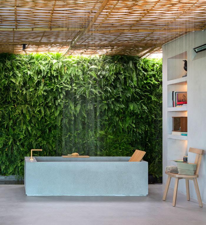 Modern Bathroom Decor with Plants 2017