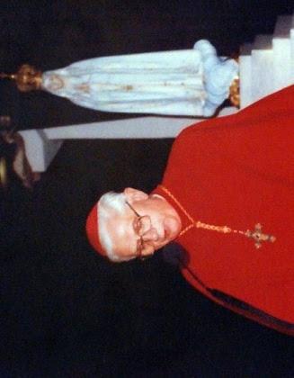 O então Cardeal Joseph Ratzinger emitia algumas opiniões  desencontradas sobre o assunto Fátima.