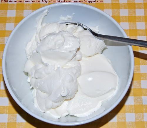 Hangop van yoghurt