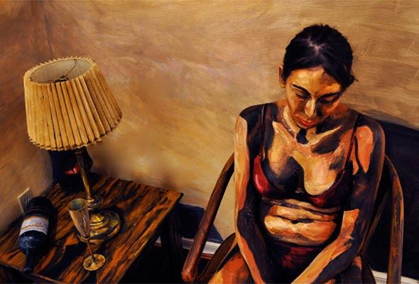 AlexaMeade Body Paint Painting Optical Illusion 1