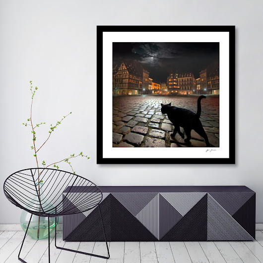 «Strasburg's Night», Limited Edition Fine Art Print by Igor Zenin - From $29 - Curioos