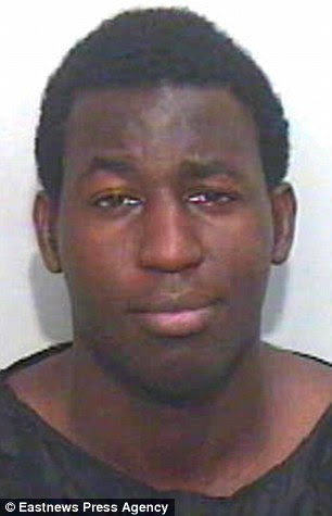Jailed for life: Killer Emmanuel Kalejaiye, 22, who stabbed his mother to death in September 2013