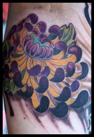 Choco Choco Tatto Japanese Flowers Tattoo