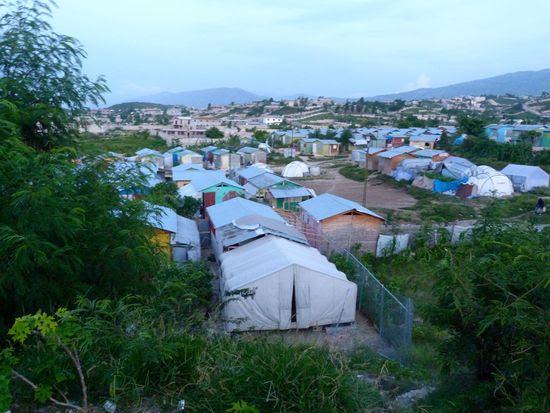 Campos de desplazados