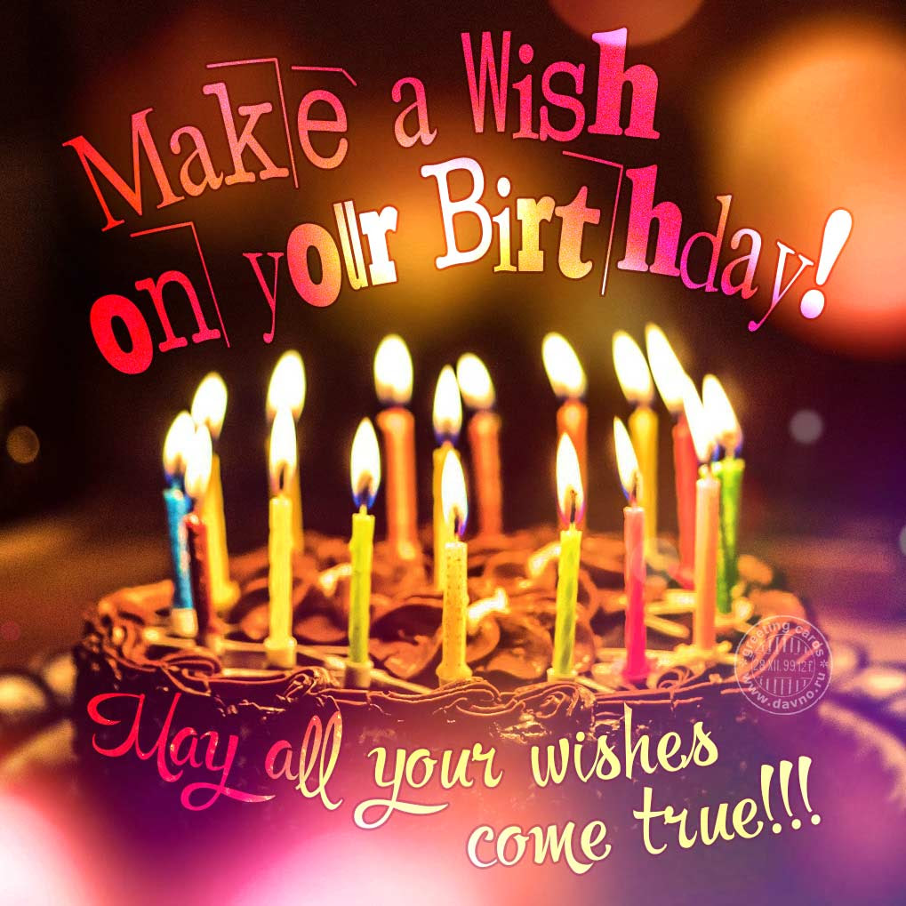 Make A Wish On Your Birthday Download On Davno