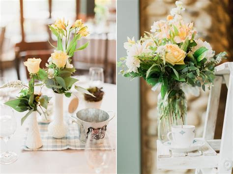 An Intimate Vintage Wedding Full of Romance : Chic Vintage