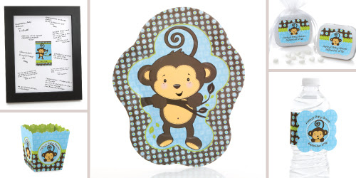 Monkey Baby Shower Theme Ideas My Practical Baby Shower Guide