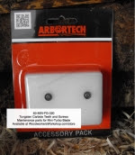Tungsten Carbide Teeth 2 pk for Arbortech™ Mini-TURBO Blade - online store product from WoodworkersWorkshop® Online Store - tungsten carbide teeth,round,mini,wood carving,planing blades,carbide teeth,cutters,angle grinder,replacement parts,maintenance,replacement parts,accessories,forestry,Arbortech™,Arbourtech,wood carvin