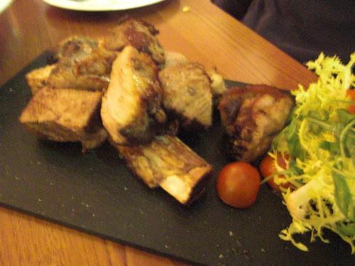 "Beef Spare Rib ""Churrasco"" with rosemary and garlic"