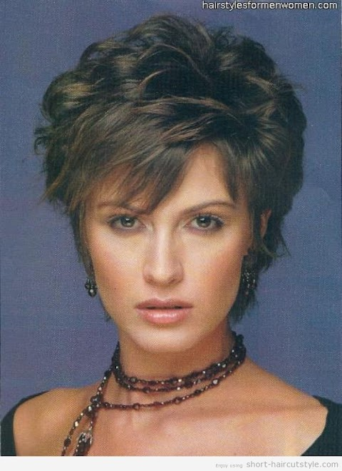 White Woman Short Hairstyles For Naturally Curly Hair Over 50