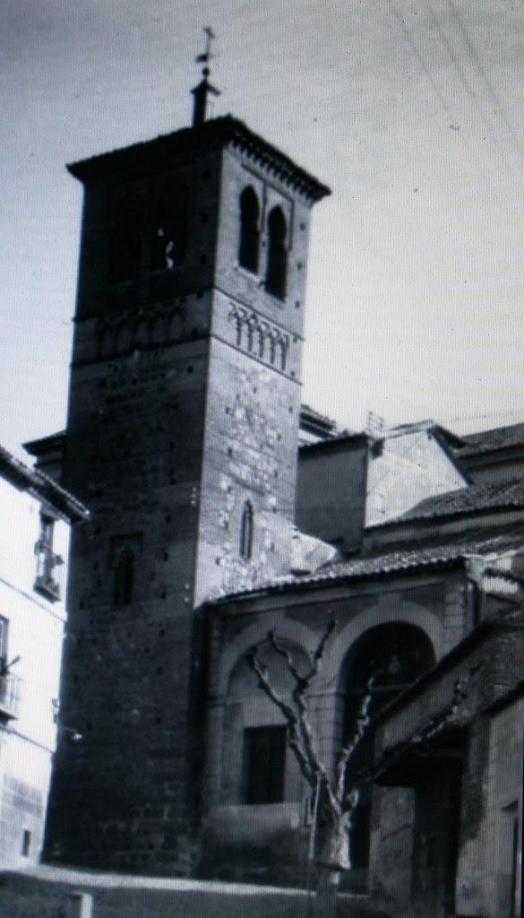 Iglesia de Santa Leocadia hacia 1900