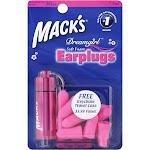 Macks Dreamgirl Earplugs, Soft Foam - 7 pair