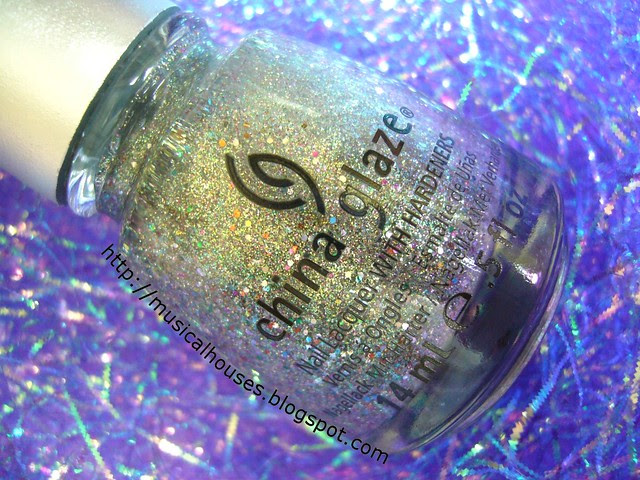 china glaze ray diant bottle