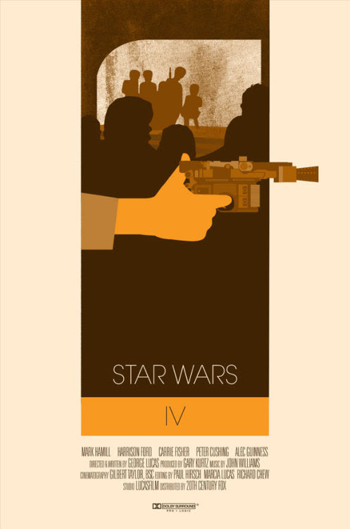 Star Wars IV by Ibraheem Youssef