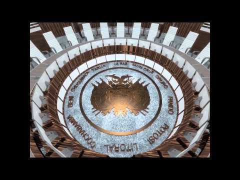 Diseño de la nueva Casa Grande del Pueblo en La Paz