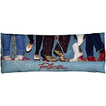Footloose - Loose Feet Body Pillow