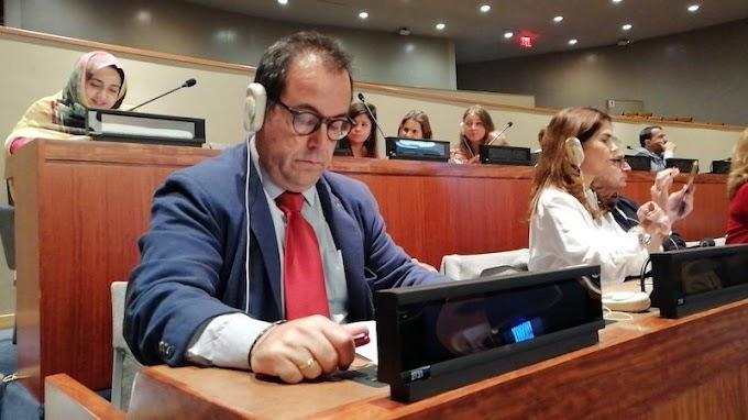 Crespo (IU CLM) exige ante Comisión de la ONU una solución para el pueblo saharaui