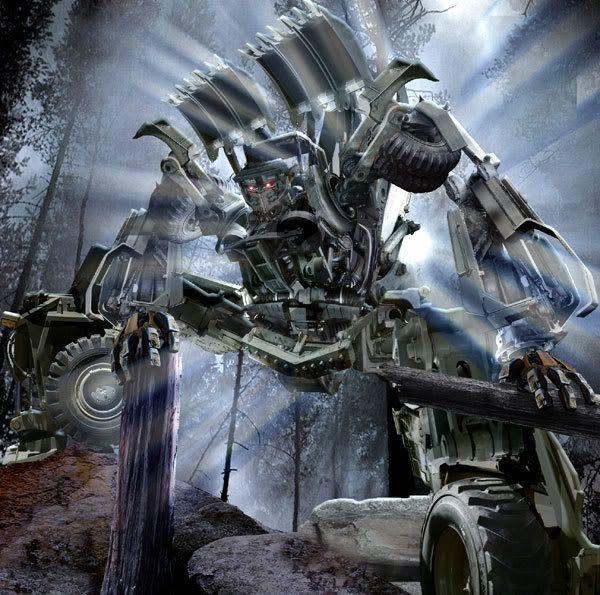 Fan art depicting the Decepticon named Scavenger.