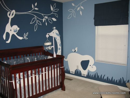 Jungle Theme Nursery Ideas