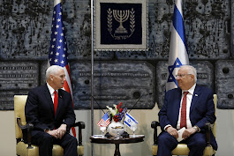 In Israel, Pence says U.S. aims to pull out of Iran nuke deal