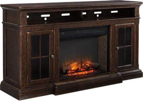 ashley roddinton fireplace tv console homemakers furniture