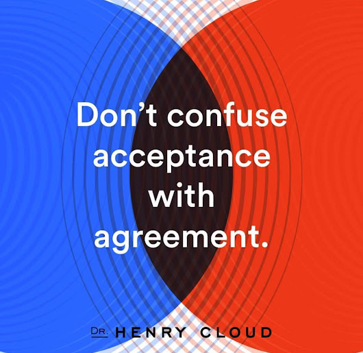 Don't Confuse Acceptance with Agreement - Online CEUs – Aspira Continuing Education