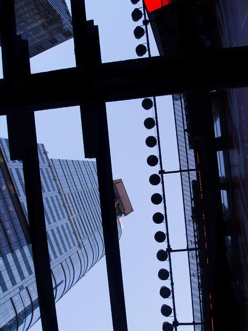 Times Square composition