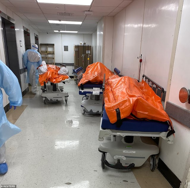 COVID-19: Heart Breaking Photos From New York as US Coronavirus Cases Keep Rising