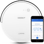 ECOVACS DEEBOT 600 Multi-Mode Wi-Fi Connected Robotic Vacuum Cleaner (White)