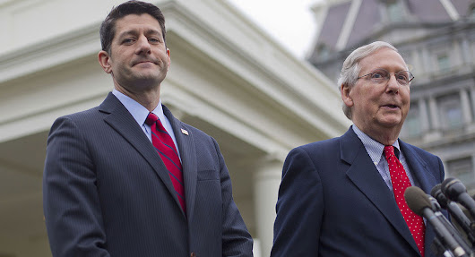 The Fight is ON! Prepare for U.S. Gov't SHUTDOWN - Ryan and McConnell say NO FUNDING FOR BORDER WALL in September Budget