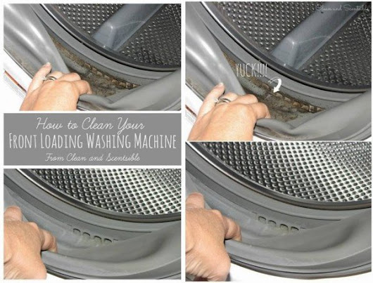 How to Clean Front Loader Washing Machine