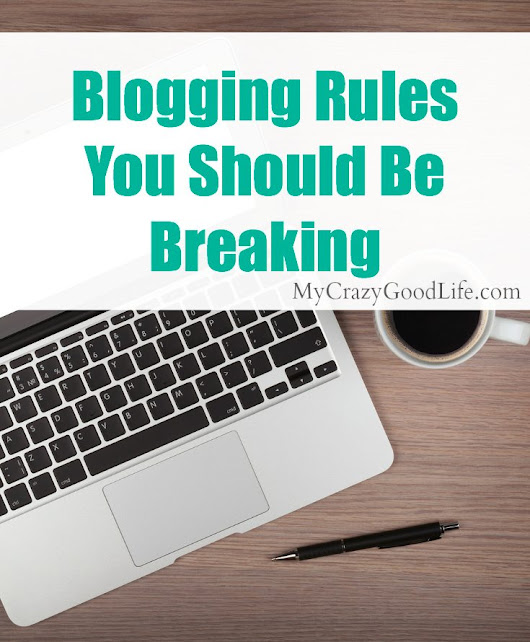 Rules Were Made To Be Broken: Blogging For Renegades