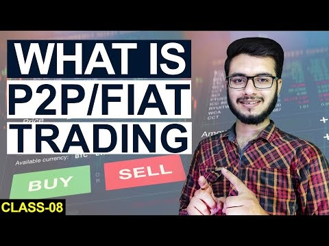WHAT IS P2P TRADING IN CRYPTO | Crypto for Beginners | Class-8