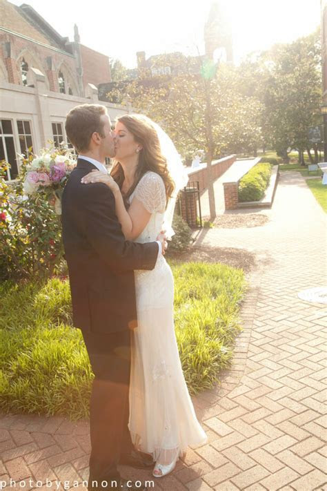 Caity & Greg Tie The Knot on Agnes Scott's Gorgeous Campus