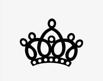 King Crown Silhouette At Getdrawingscom Free For Personal Use