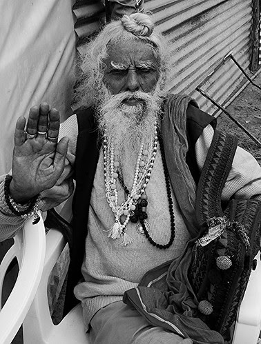 The Naga Gurus At Maha Kumbh by firoze shakir photographerno1