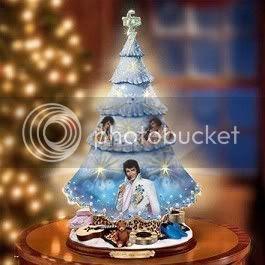 Elvis Presley Famosos con gorritos de Navidad