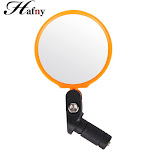hafny mini handiness firmness adjustable collapsible stainless steel mirror mountain bike rearview mirror