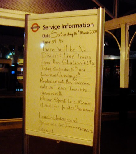 At Kew Gardens Station